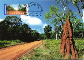 2002 Ausztrália látnivalói és gyönyörű szép tájai CM-n Mi 2152-2152