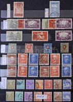 Svájc több példányos jó kiadásokkal tétel a klasszikusoktól 1969-ig 12 lapos A/4 berakóban. Minden oldal fotózva van!!