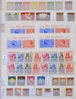 Svájc több példányos tétel 1181-1970 8 lapos A/4 berakóban. Komoly, tartalmas anyag (Mi EUR 5.200.-) Minden oldal fotózva van!!