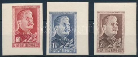 1949 Sztálin ívsarki vágott sor (**3.000)