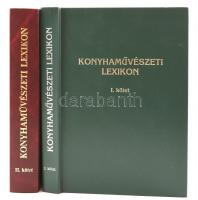 Konyhaművészeti Lexikon I-II. Fordította Hetényi Károly. h.n., é.n., Codex. Kiadói műbőr kötés, jó állapotban.