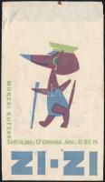 cca 1960 Zizi édesség papírzacskó