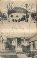 1914 Ismeretlen település, üzlet, templom belső (fa)