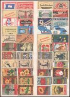 Külföldi gyufacímke gyűjtemény 1 db berakólapon