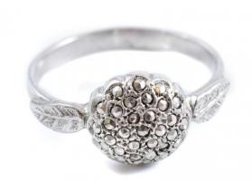 Ezüst (Ag) gyűrű, Jelzett 2,77 g m:58