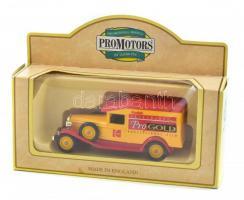 Promotors játékautó eredeti dobozában 9 cm