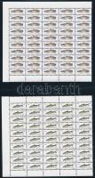 1999, 2001 Halászati Hatóság illetékbélyeg két ívdarab