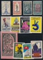 16 db francia levélzáró