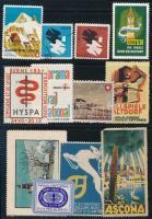 16 db svájci levélzáró