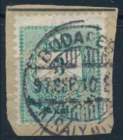 Színes számú krajcáros KRAYER perfin (Lente 200 p)