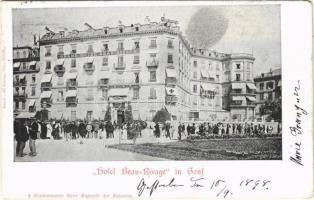 1898 (Vorläufer) Geneve, Geneva, Genf; Grand Hotel Beau-Rivage