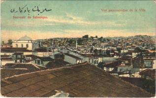 Thessaloniki, Saloniki, Salonica, Salonique; Vue panoramique de la Ville