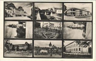 1941 Beregszász, Beregovo, Berehove; mozaiklap irredenta propagandával / multi-view postcard with Hungarian irredenta propaganda (EK)