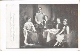Erzherzog Franz Ferdinand von Oesterreich dEste mit Familie. B.K.W.I. 889.