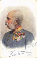 Ferenc József / Franz Joseph. B.K.W.I. 752-12. s: C. Pietzner