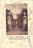 1933 Gödöllő IV. Nemzetközi Cserkész Világtáborozás, Erzsébet királyné út (EB)