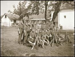 II. világháborús katonai negatívok, 6 db negatív kocka