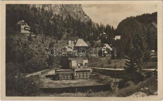 1944 Gyergyószentmiklós, Gheorgheni; Gyilkos-tó, Márk villa, garázs / Lacul Rosu (Ghilcos) / lake, villa, garage (EK)