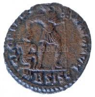 Római Birodalom / Siscia / Valens 364-367. AE3 Cu (2,08g) T:2 Roman Empire / Siscia / Valens 364-367. AE3 Cu DN VALEN-S PF AVG / GLORIA RO-MANORVM - palm branch BSISC (2,08g) C:XF RIC IX 5b