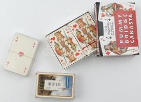 4 pakli römikártya