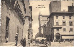 Bologna, Via Indipendenza / street, automobile