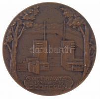 1934. Stadionavatás 1934. VI. 2-10. Debrecen Br emlékérem (58mm) T:2