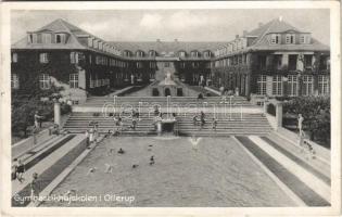 1939 Ollerup, Gymnastikhojskolen / Gymnastics College, school, swimming pool