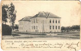 1905 Abony, Állami polgári iskola (b)