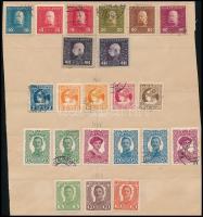 1915-1918 22 db bélyeg