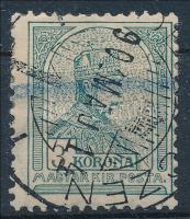 1900 Turul 3K számvízjellel