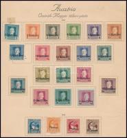 1918 Olaszország részére 23 db bélyeg