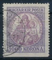 1921 Koronás Madonna 1000K alul fogazatlan