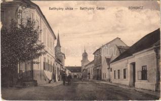 1915 Rohonc, Rechnitz, Rohunac; Batthyány utca / Gasse / street (EK)