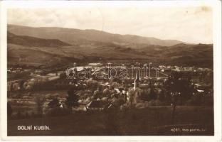 1933 Alsókubin, Dolny Kubín; látkép, híd / general view, bridge (fl)