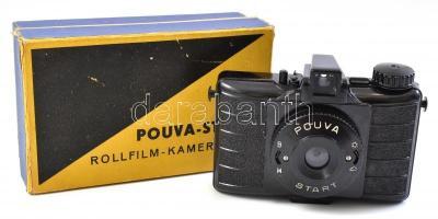 Pouva Start 6x6 cm kamera Duplar 1:8 objektívvel, eredeti dobozában