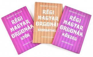 Szigeti Kilián: Régi magyar orgonák. Kőszeg, Győr, Szombathely. Bp., 1978., Zeneműkiadó. Kiadói kissé kopott papírkötés.