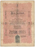 1848. 2Ft Kossuth bankó T:III-  Adamo G105