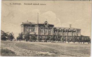 Alatyr, Alatir; street view, state wine warehouse