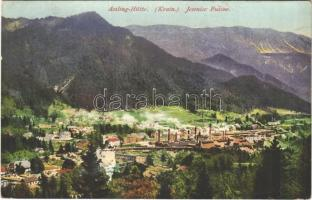 1917 Jesenice, Assling, Aßling; Hütte / Fuzine / ironworks, factory