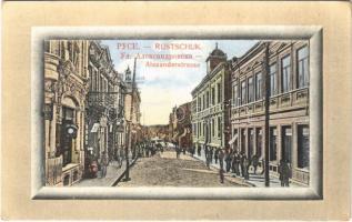Ruse, Rousse, Russe, Roustchouk, Rustschuk; Alexanderstrasse / street