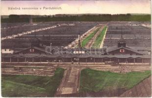 1916 Pardubice, Pardubitz; Válecná nemocnice / WWI Austro-Hungarian K.u.K. military hospital