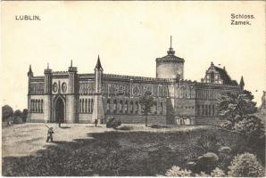 1915 Lublin, Schloss / Zamek / castle + K.u.K. Infanterieregiment No. 2. 4./XIV. Marschkompagnie (EB)
