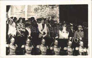 Benito Mussolini, Italian royals and nobles. Eugenio Risi (Roma) photo (EK)