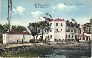 Durres, Durazzo; Palazzo principesco / Palais des Fürsten / Palati des Princit / palace of the prince (EK)