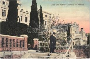 Abbazia, Opatija; Hotel und Kursaal Quarnero / hotel, spa, bath