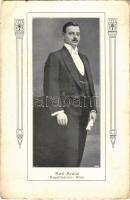 Wien, Vienna, Bécs; Karl Kratzl Kapellmeister / Conductor. Art Nouveau (worn corners)