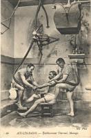 1908 Aix-les-Bains, Établissement Thermal, Massage / spa interior