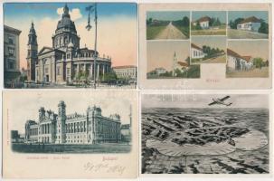38 régi magyar városképes lap főleg Budapest