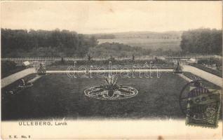 1904 Larvik, Ulleberg / castle garden
