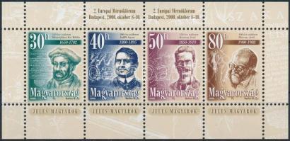 2000 Jeles magyarok blokk 2. Európai Mérnökfórum